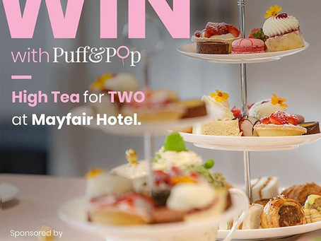 WIN: Champagne High Tea for YOU & MUM at Mayfair Hotel