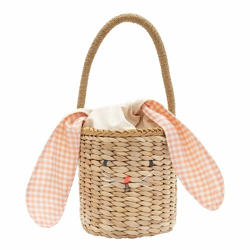 Bunny PomPom Easter Basket
