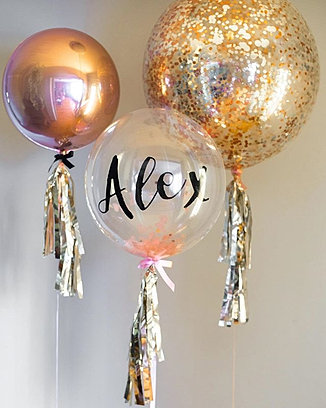 Adelaide balloons puff and pop send balloons stuffed balloons wedding balloons junglespirit Gallery