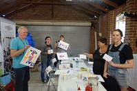 Letterpress workshop Perth Happy guests!