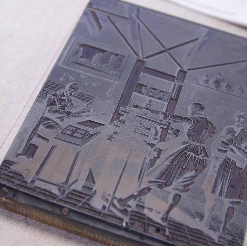letterpress wood block 1
