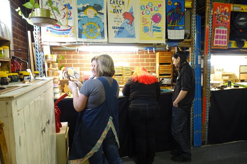 Letterpress workshop Perth