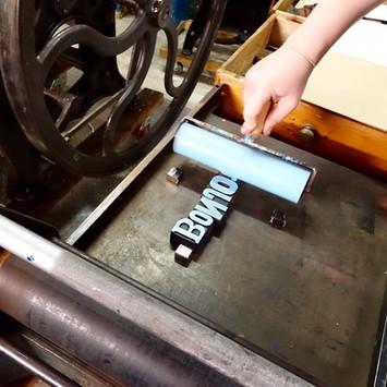 Letterpress workshop Perth5