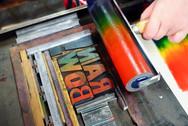Letterpress classes Australia split fountain
