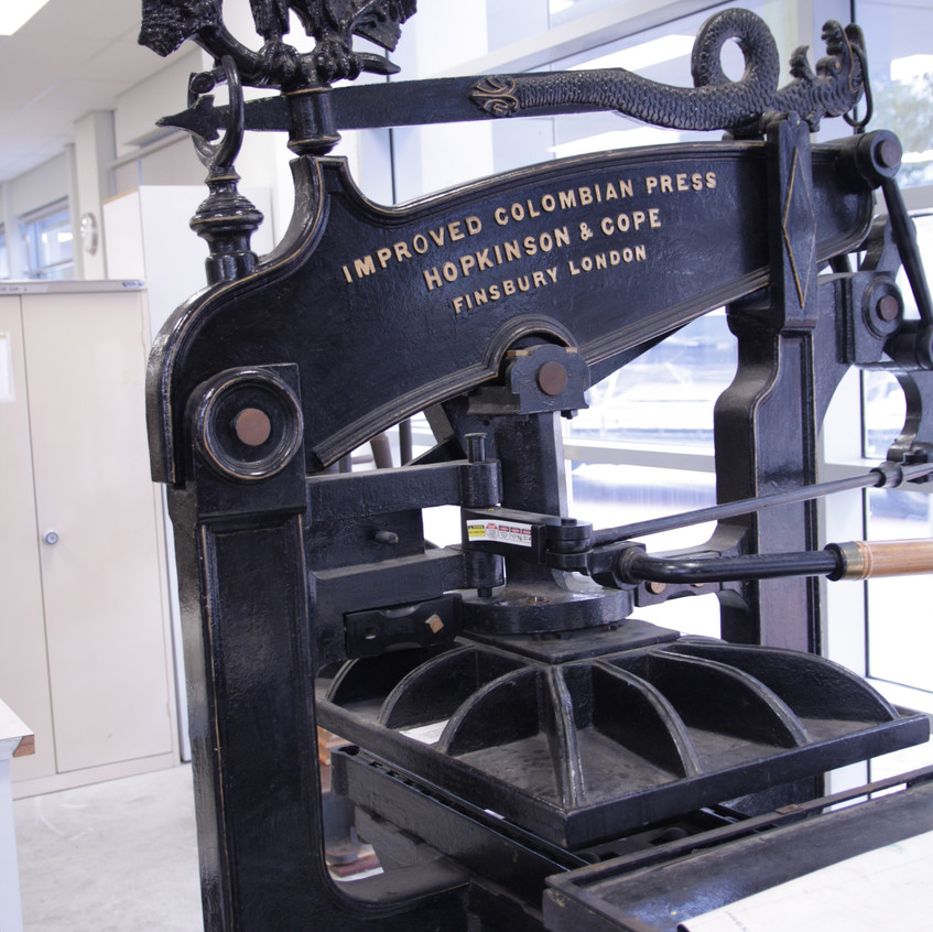 improved columbian press