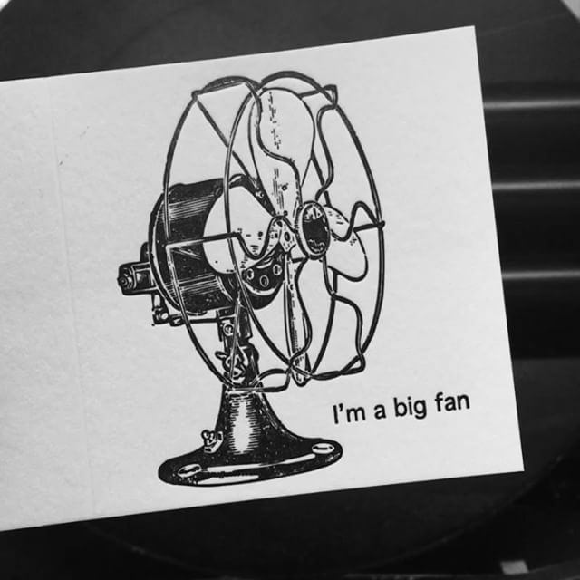 I'm a big fan of yours. ..