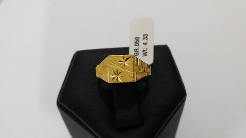 22ct Mens Gold Ring (GR050)