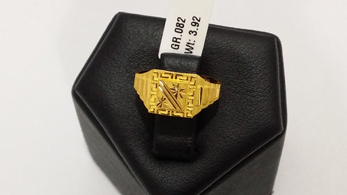 22ct Mens Gold Ring (GR082)