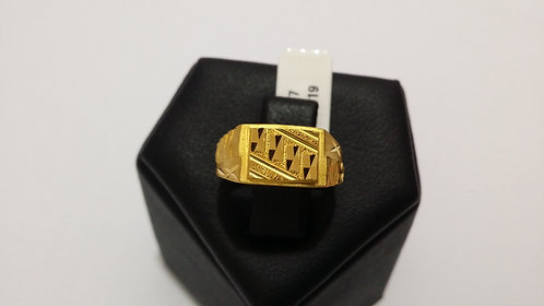 22ct Mens Gold Ring (GR077)