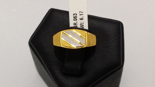 22ct Mens Gold Ring (GR063)