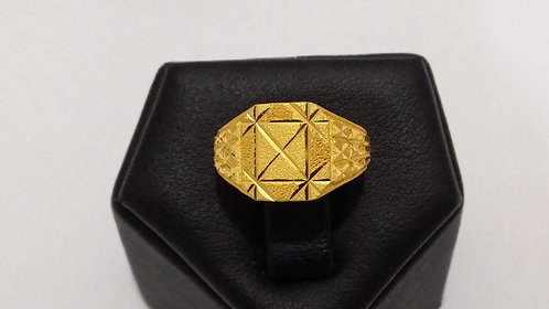 22ct Mens Gold Ring (GR154)