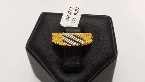 22ct Mens Gold Ring (GR071)