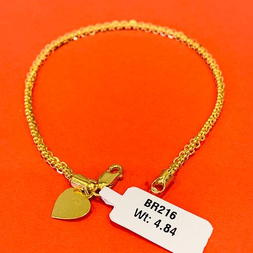 22ct Gold Bracelet (BR216)
