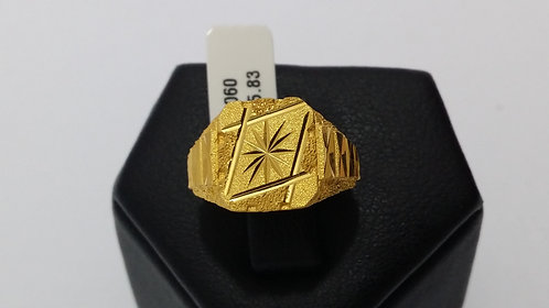 22ct Mens Gold Ring (GR060)