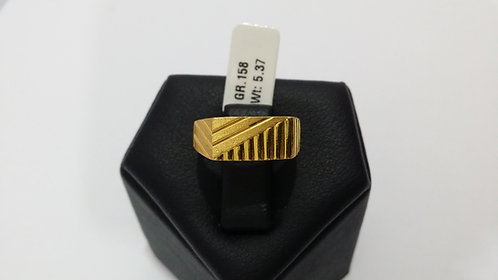 22ct Mens Gold Ring (GR158)