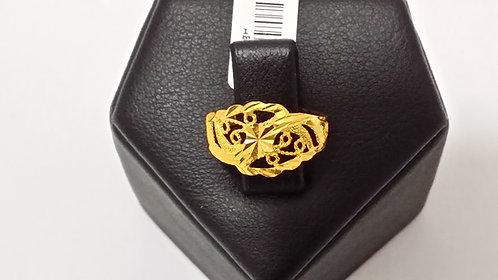 22ct Ladies Gold Ring (GR014)