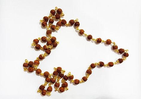 22ct Gold Rudraksha Mala Chain