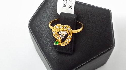 22ct Ladies Gold Ring (GR260)