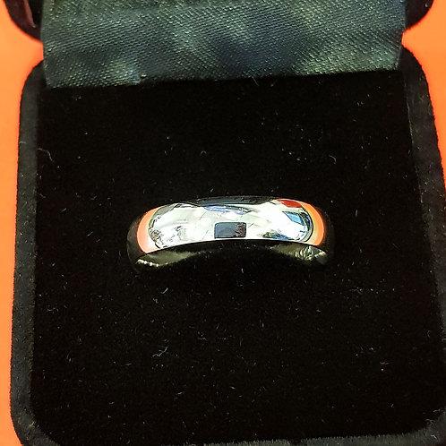 Mens 925 Sterling Silver Wedding Band (ABDMWB006)