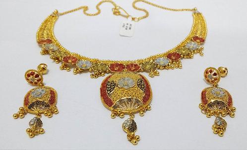 22ct Gold Braidal Set (SET050)