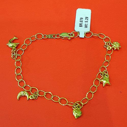 22ct Gold Bracelet (BR079)
