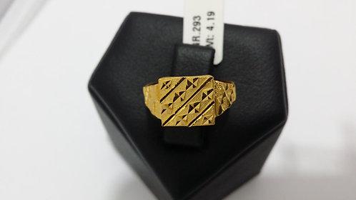 22ct Mens Gold Ring (GR293)