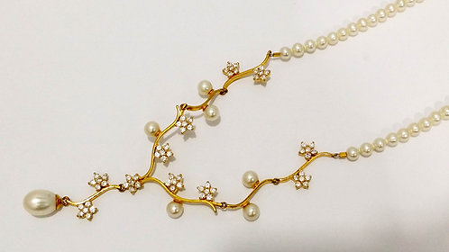 22ct God Pearl Necklace (NCNK37)
