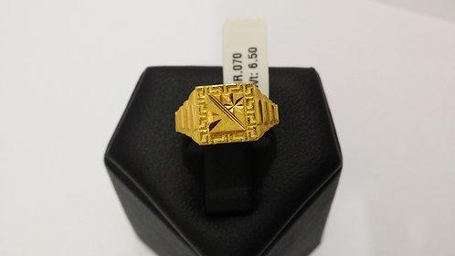 22ct Mens Gold Ring (GR070)