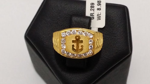 22ct Mens Gold Ring (GR289)
