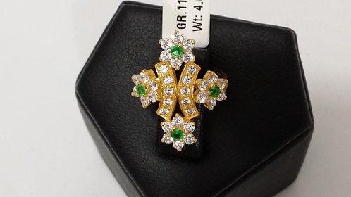 22ct Ladies Gold Ring (GR116)