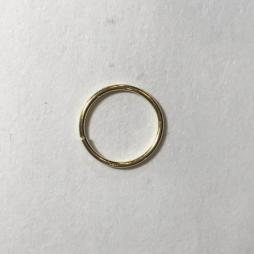 22ct Gold Nose Ring/Hoop