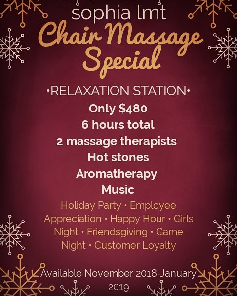 chair massage special
