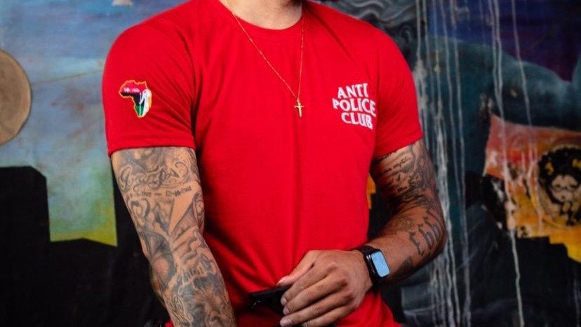 Anti Police Club Tee