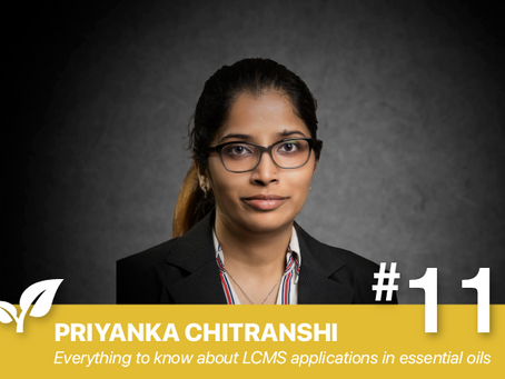 #11 Everything You Always Wanted to Know about LCMS Applications By: Priyanka Chitranshi