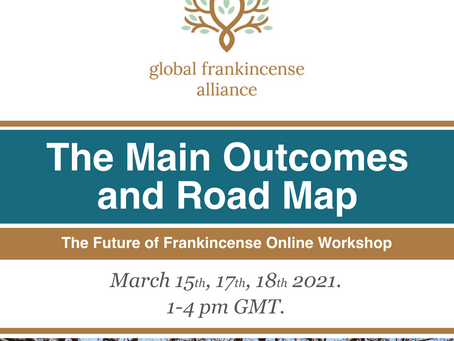 GFA: The Future of Frankincense Online Workshop