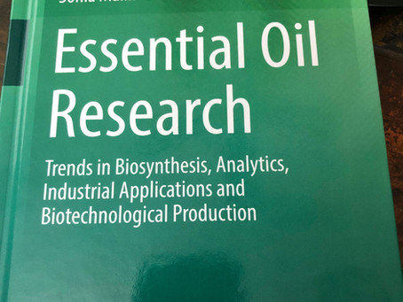 Text Book Publication: Essential Oil Research