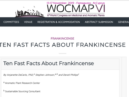 Ten Fast Facts About Frankincense