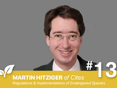 #13 The CITES Convention By Martin Hitziger