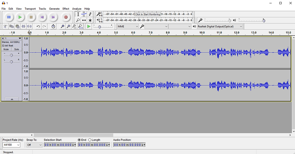 use Audacity to record your TOEFL speaking responses