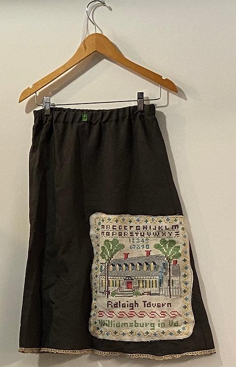 grey sampler skirt