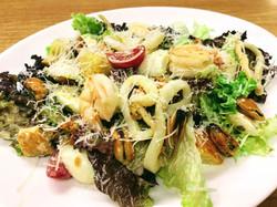Салат Цезар з морепродуктами