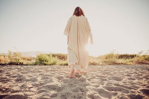 Walk with HIM (horizontal) Canvas