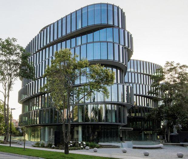 EDIFICIO OFICINAS MONROY   Servicio: Gerencia de Proyectos. Cliente: Inmobiliaria IMAS. Constructora: Mena y Ovalle S.A. Arquitectos: FG Arquitectos. M2 construidos: 15.000