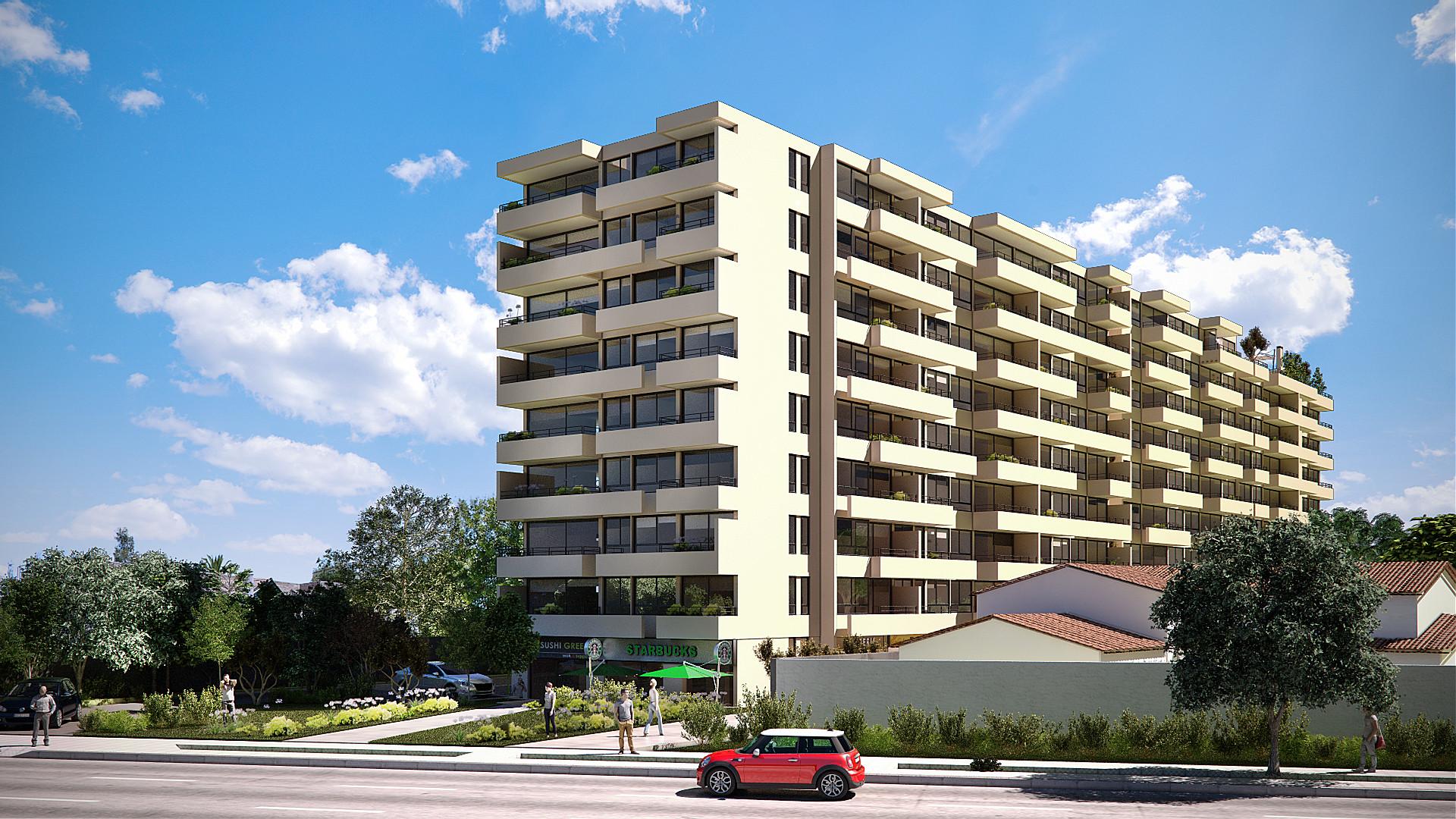 EDIFICIO HABITACIONAL VISTA LA FLORIDA   Servicio: Gerencia de Proyectos. Cliente: IRC Inmobiliaria. Constructora: Lo Campino. M2 Construidos: 10.100.