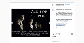 An APC Presents image has been used in Trinity College's new outreach material!