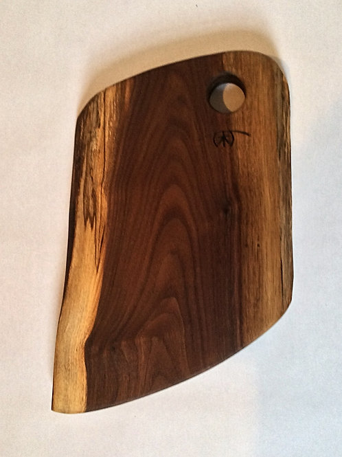 Small black walnut board