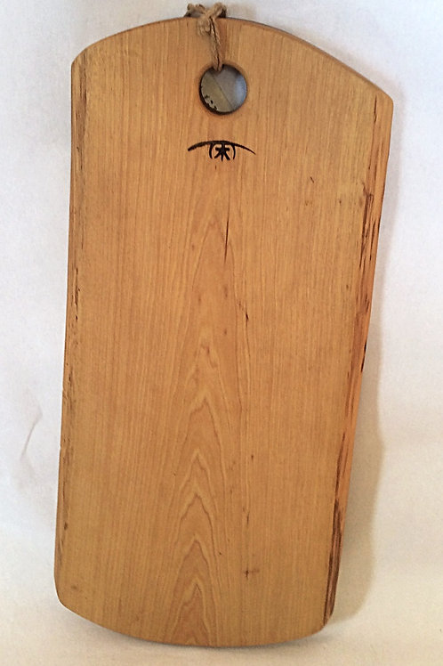 Large Hickory Cutting Board