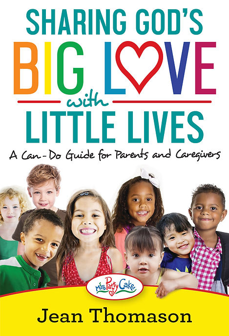 Sharing God's big love with little lives by Jean Thomason book cover