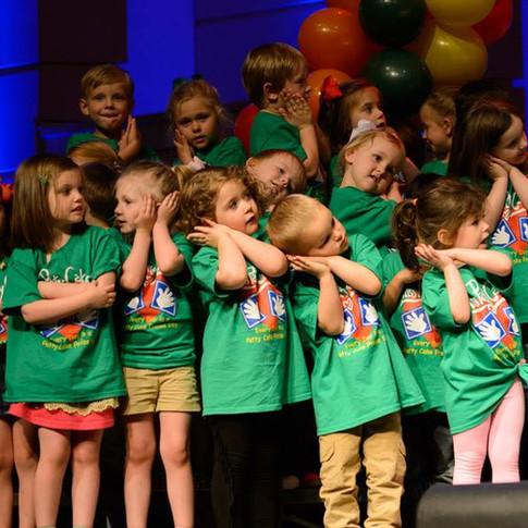 Kids Choir Performing with Miss PattyCake