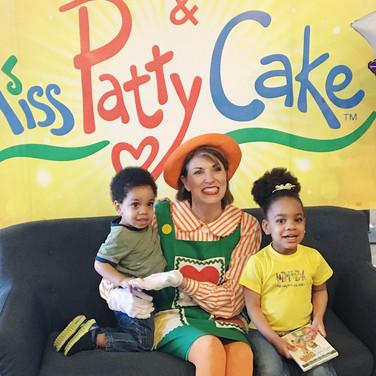 Miss PattyCake and her fans